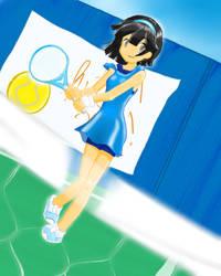 Shuuko Takada of Fudomine by YamatoyoNaru