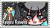 JKMM - Kyujou Kyuuko Stamp by midnightnavystamps