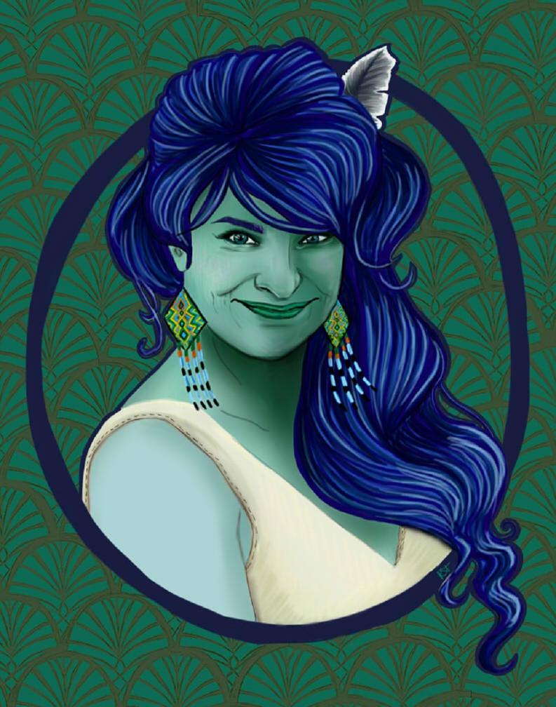Madisyn portrait by KatyCrash