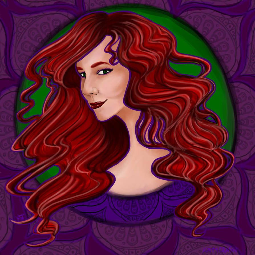 Leighton portrait by KatyCrash