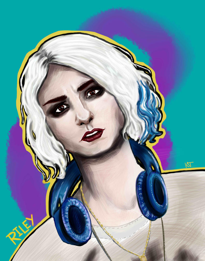 Riley Blue - Sense8 by KatyCrash