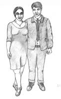 Formal Couple by Huinesoron