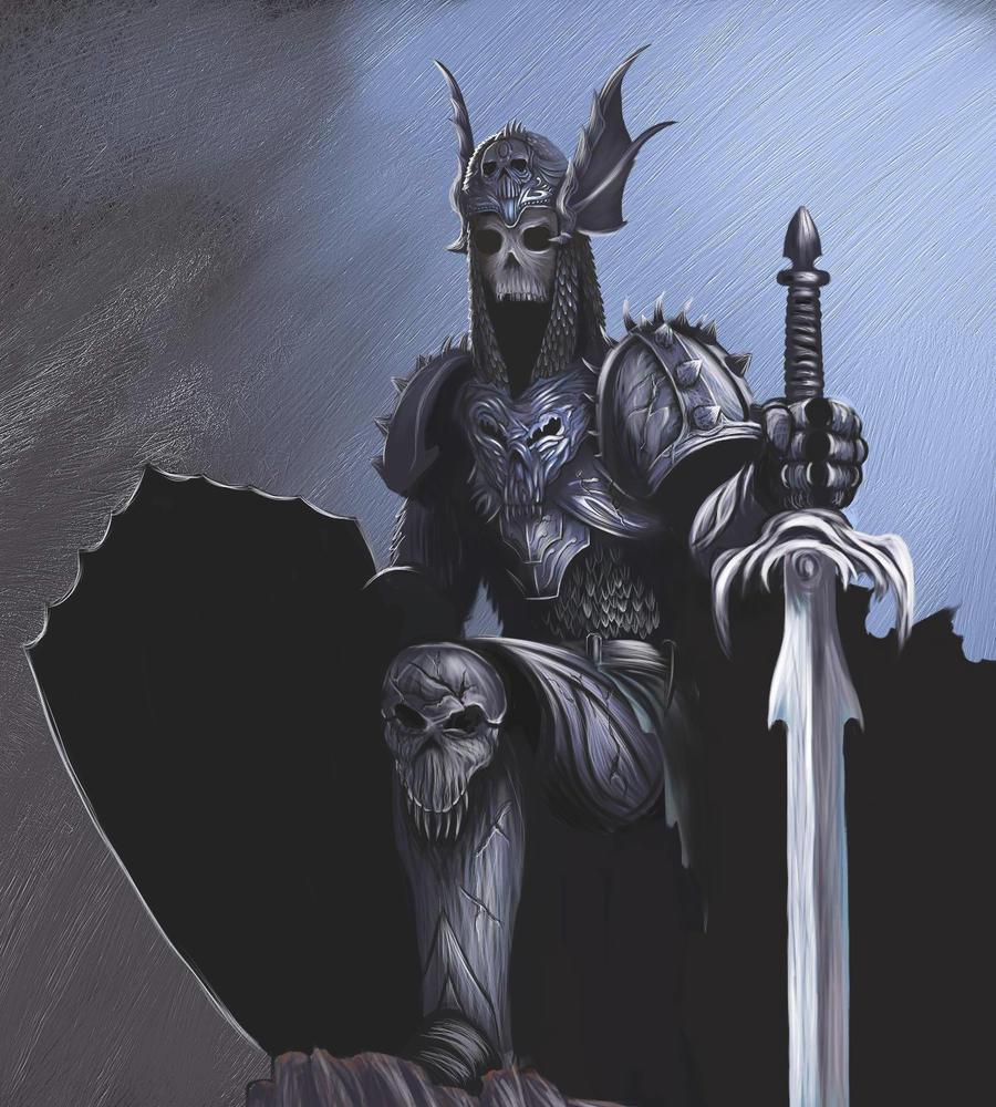 Undead Champion by malverro