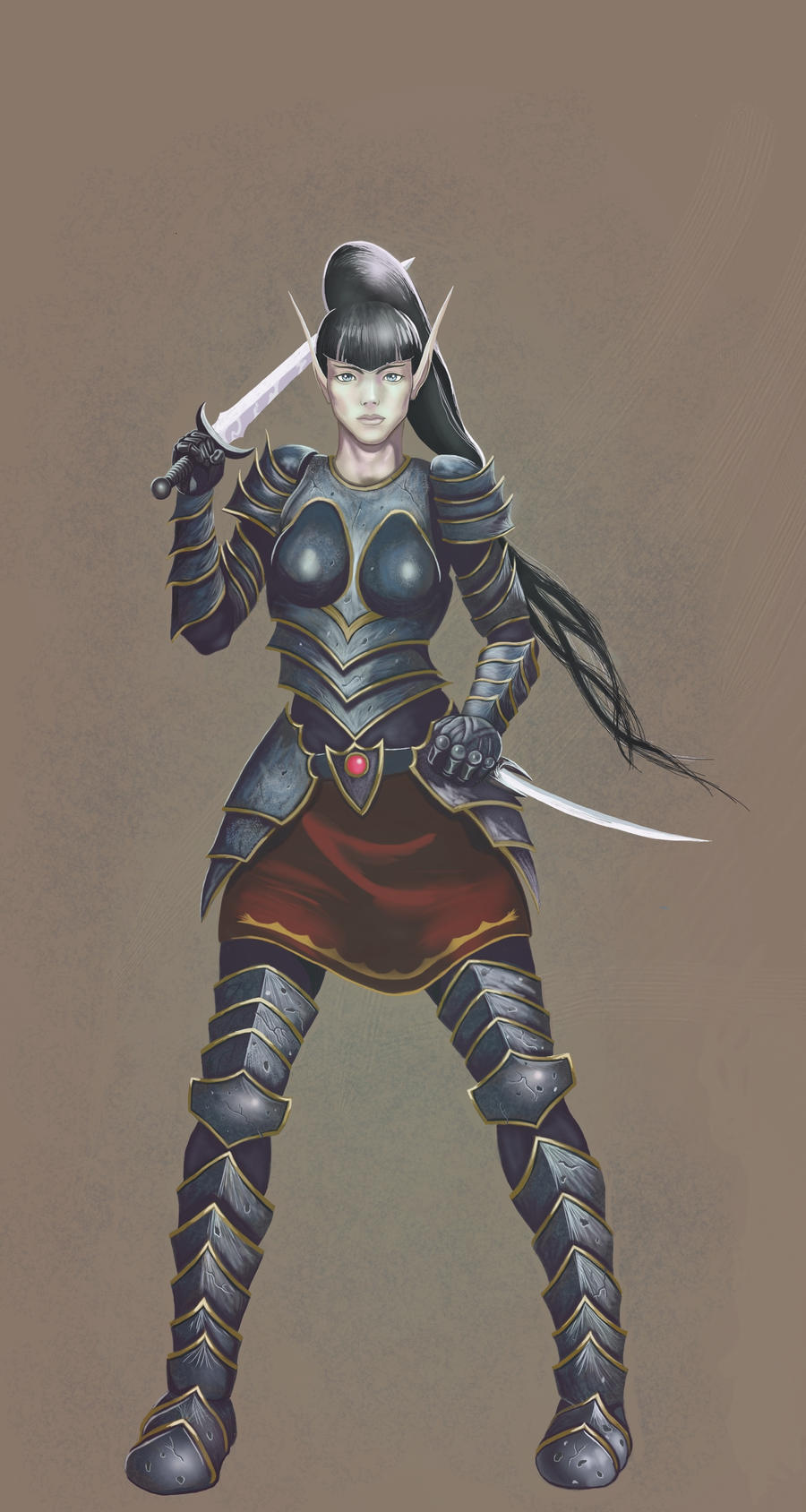 Elf Sword Master by malverro