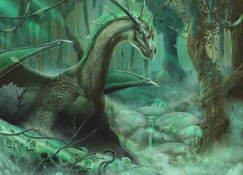 Green Dragon by malverro