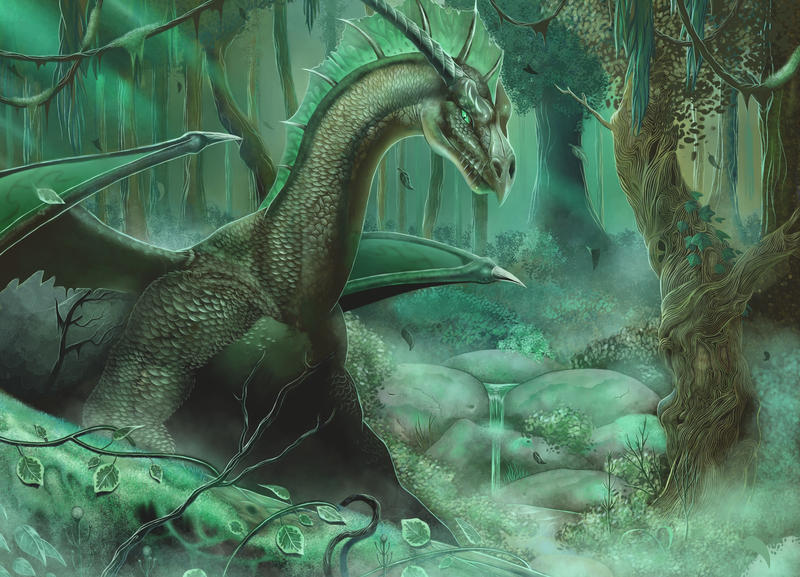 Green Dragon by malverro