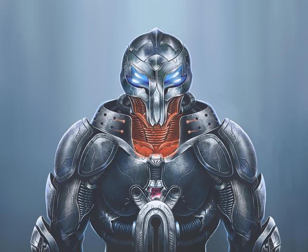 Space warrior by malverro