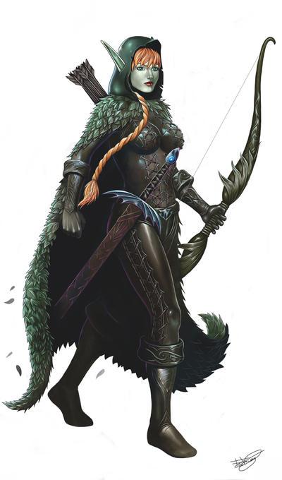 Elf Ranger by malverro