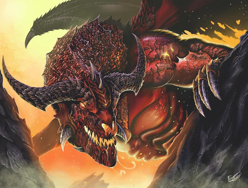 Fire Dragon by malverro