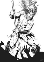 Heavy Metal Barbarian by malverro