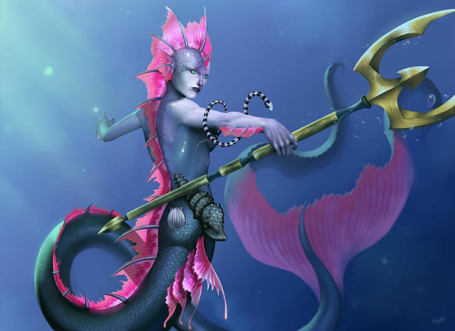 Mermaid by malverro