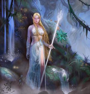 High Elf Priestess