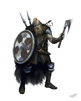 Abanasinian Nomad Barbarian