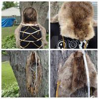 *Updated* Beaver Pelt Headdress For Sale