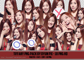 Tiffany PNG Pack - 18 PNG by ByunPie27