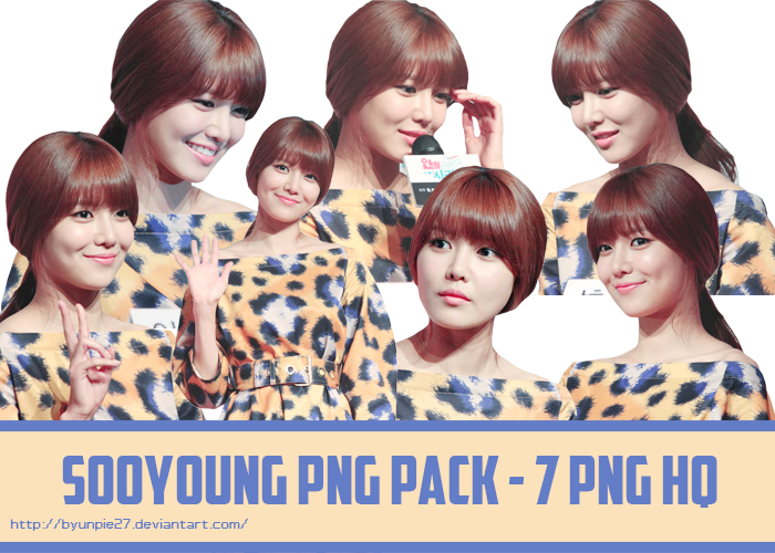 Sooyoung PNG Pack by ByunPie27 by ByunPie27