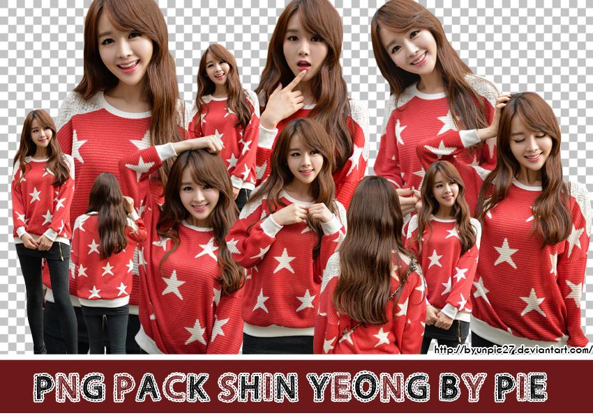Ulzzang PNG Pack - Kim Shin Yeong by ByunPie27