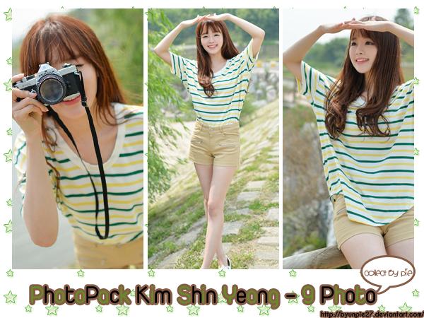 Kim Shin Yeong Photopack#3 by ByunPie27