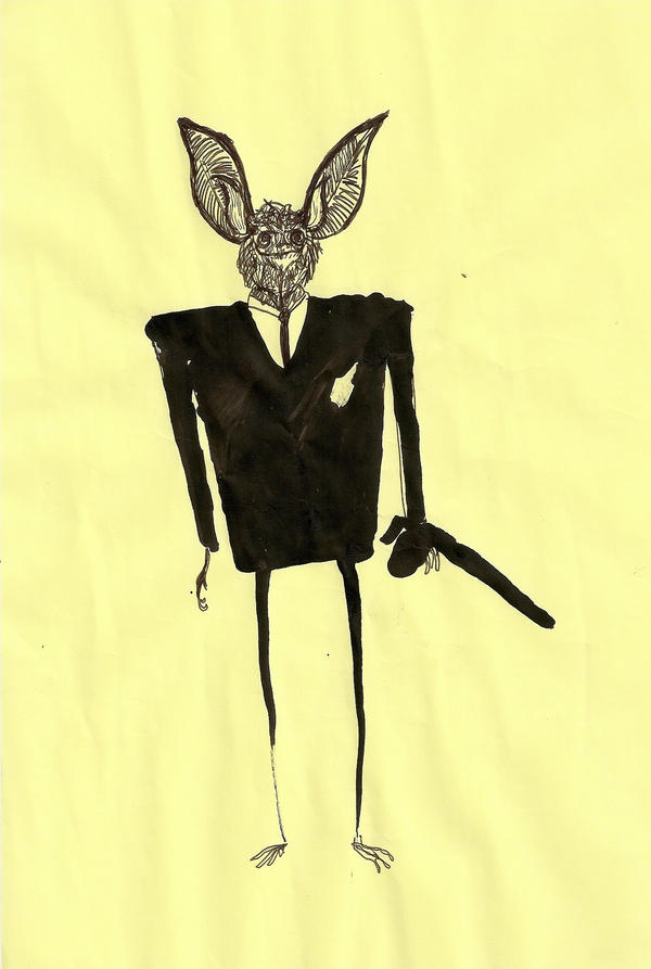 Nietoperz Bat by Sllownik