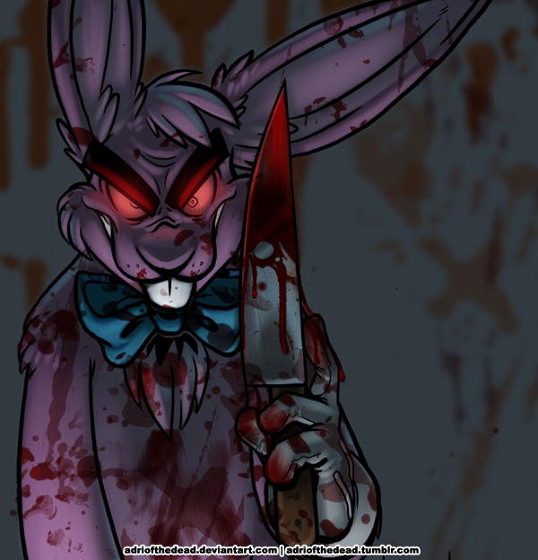 Evil Easter Bunny - 2009 by AdriOfTheDead