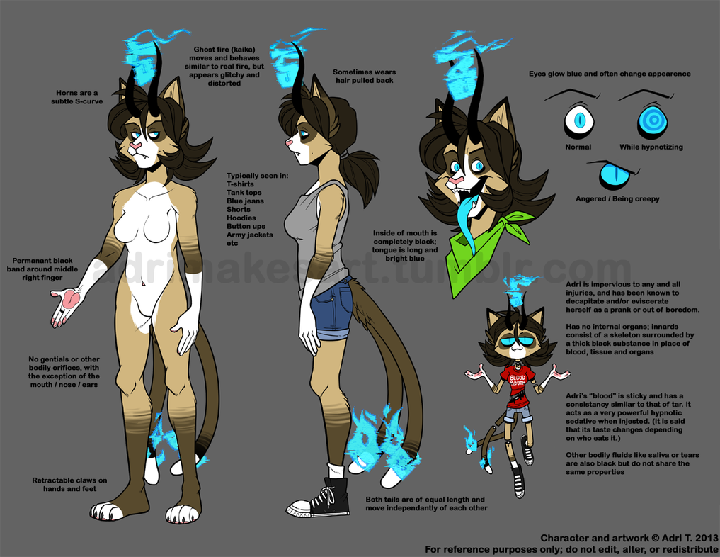 Adricat Reference - Updated by AdriOfTheDead