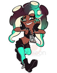 Fanart Friday - Marina by AdriOfTheDead