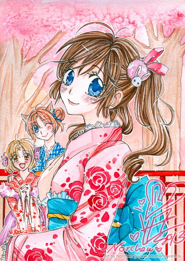 Hanami Girls [ToZ] by oONorchenOo