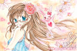 Norchen and Hasi [Blog related drawing]