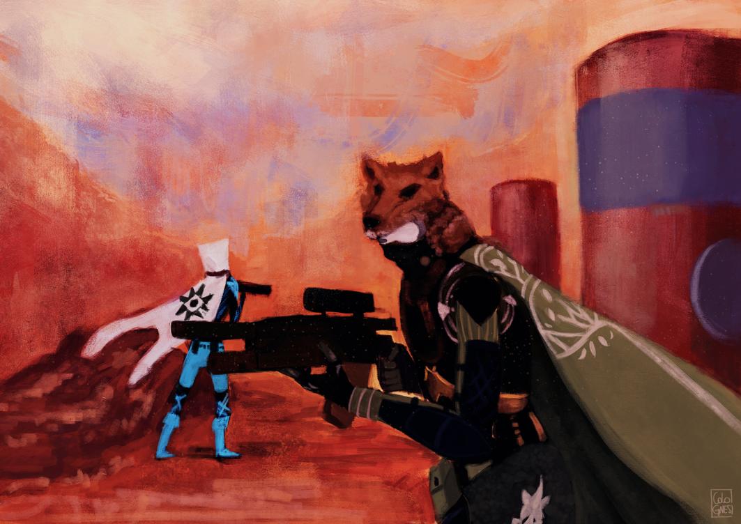 Wolves War by deletiac