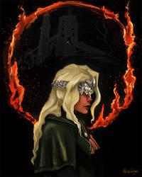 The Firekeeper (Dark Souls 3 portrait serie #1)