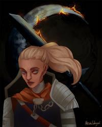 Astora's Champion (Dark Souls portrait serie #2)