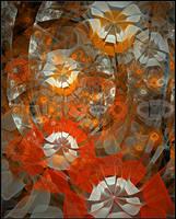 Orange Marigolds by CopaseticDesign