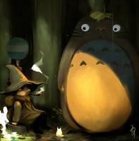 Totoro and Snusmumriken by pu