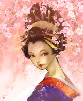 Oiran 'weeping cherry version'