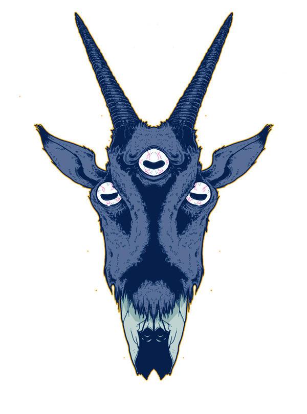 Goatheadz by spokeart
