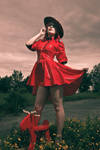 Mountie pin up