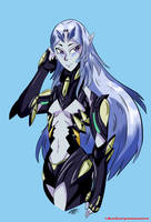 Elma (Xenoblade Chronicles X) by ZephyrusBeardsley