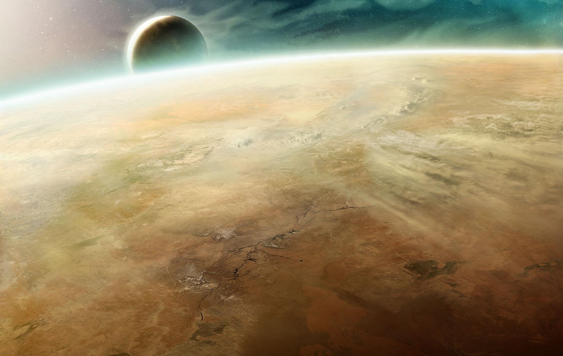 Planet Calderis by Zen-Master