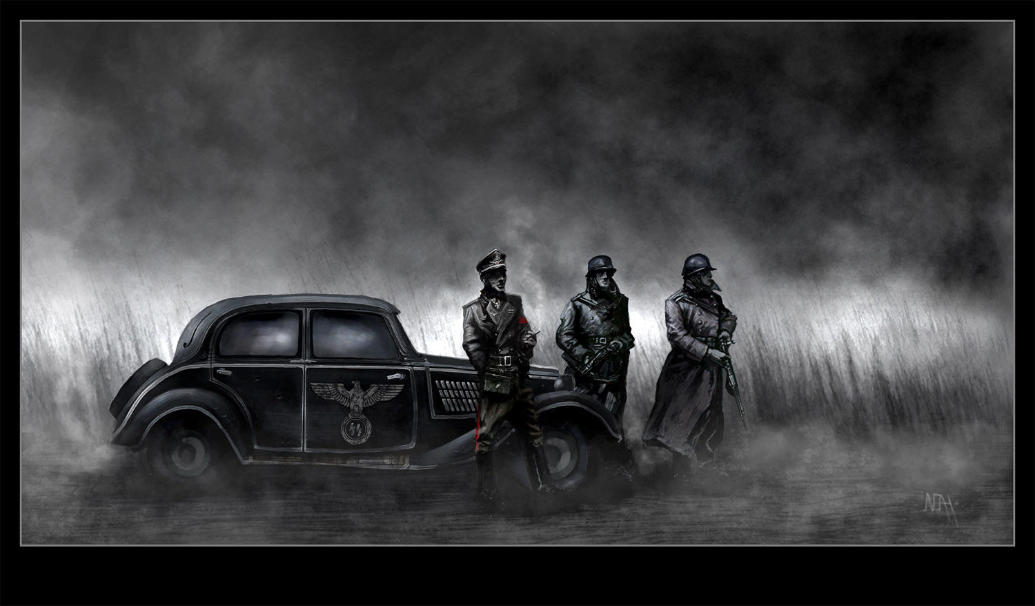 Nazi Germany by heavens-  Waffen Ss Logo Wallpaper