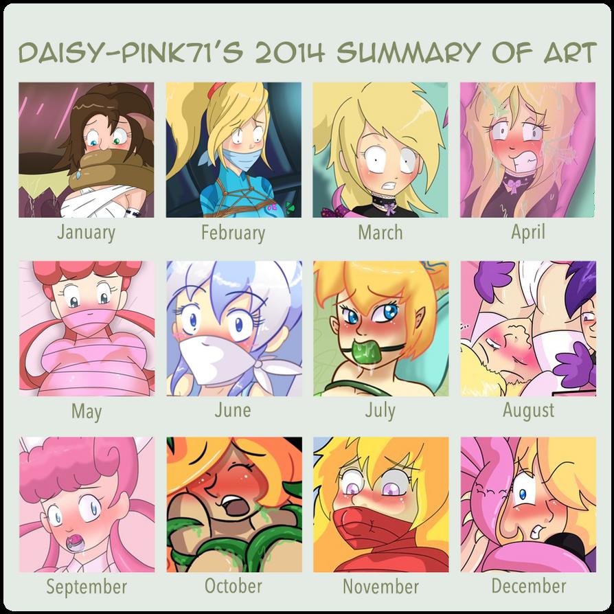Daisy's 2014 Art Summary by Daisy-Pink71