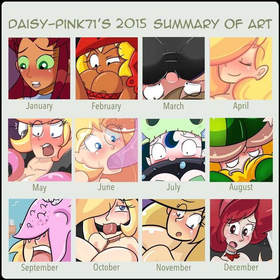 Daisy's 2015 Art Summary by Daisy-Pink71