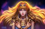 Fanart Egyptian Queen  (Nile Monshou)