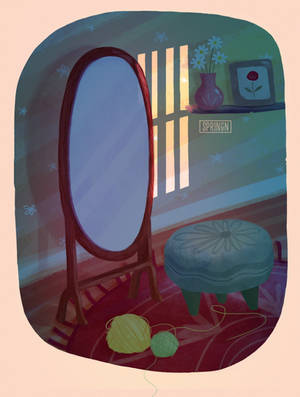 Daily Study | My corner 4 | Night scene