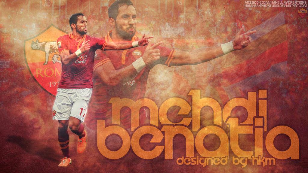Mehdi Benatia Asroma Gladiator Hdwallpaper By by HkM-GraphicStudio on ...
