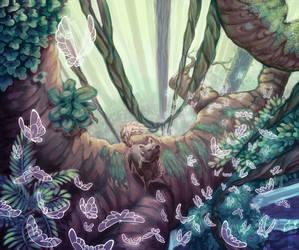Butterflies by AzurePrincet