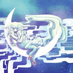 Lunar lullaby by AzurePrincet