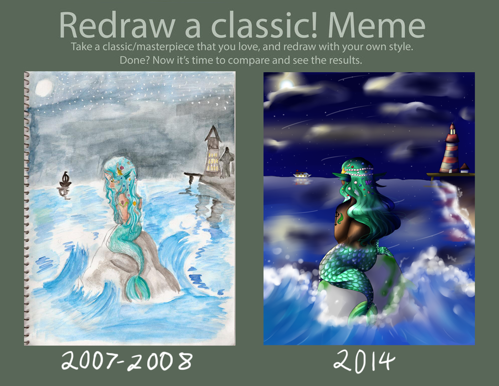 Redraw Meme By by HandxPalm