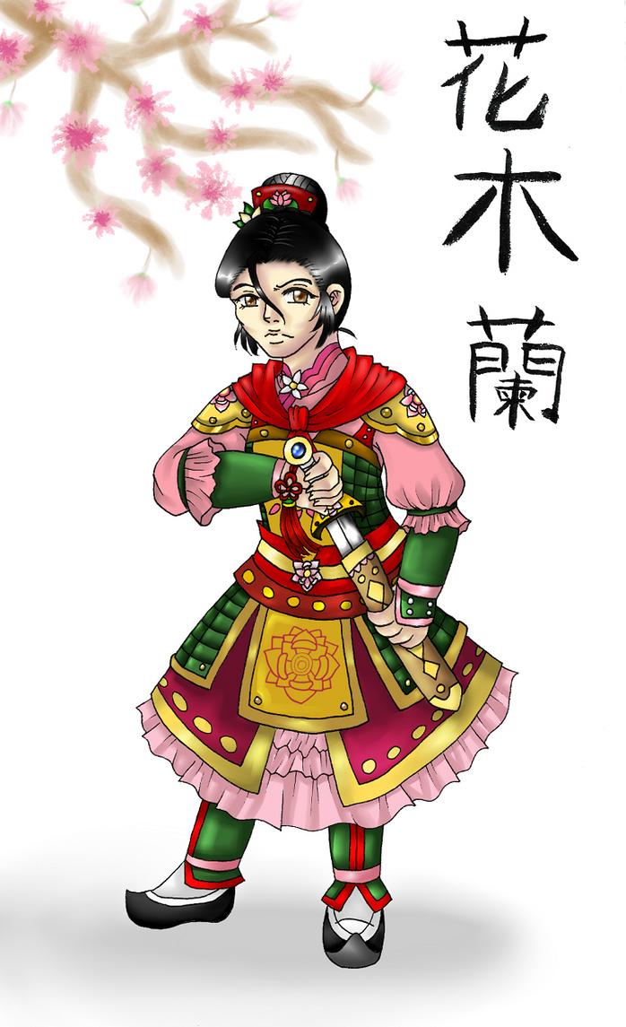 Fa Mulan by HandxPalm