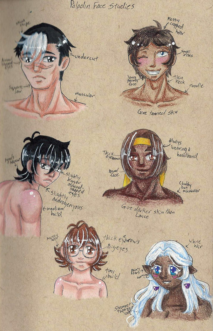 Voltron Face studies by HandxPalm