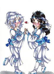 Lan Lihua and Lan Meiying